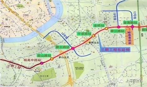 未来浦东新区交通规划主要涉及两条轨交线路