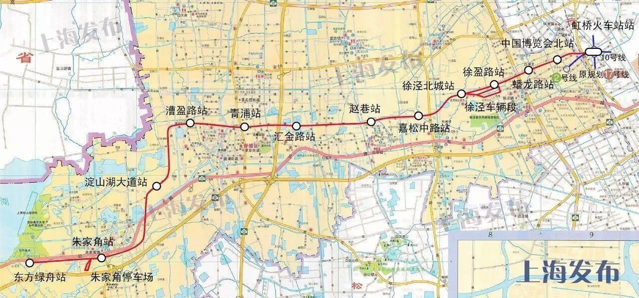 上海热线HOT新闻 上海十条在建地铁线路最新进展,快来找找你家附图片