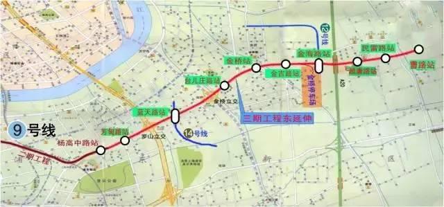 上海热线HOT新闻 太棒啦 有了这3条地铁从市区往返浦东 青浦将更方便图片