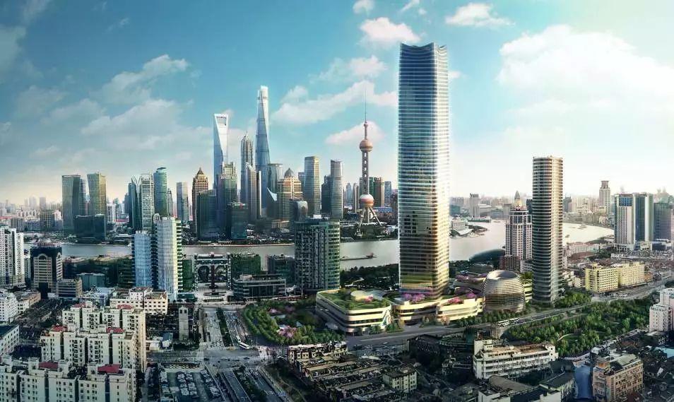 浦西第一高楼 上海白玉兰广场写字楼全揭秘!