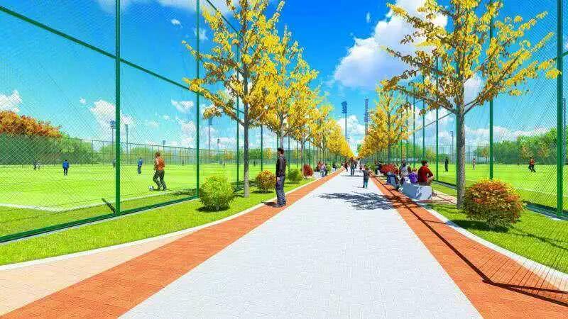 若世界杯在上海举行,你希望场地放在哪里?嘉定42万平方米足球公园轮廓初现!