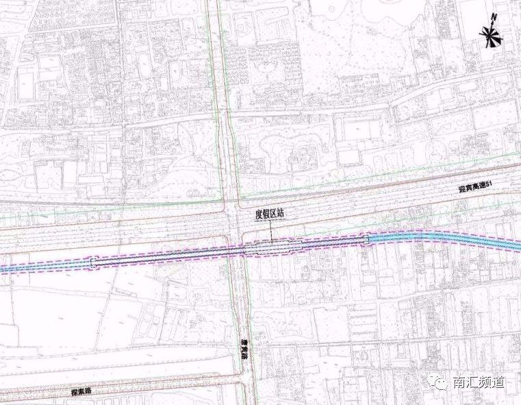 区段站设计图