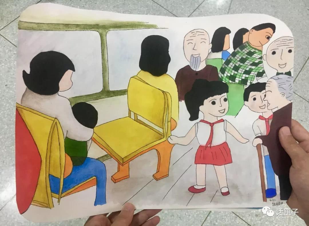 """热点新闻   一楼大厅设""""少年中国梦""""会场,学生们共同接力,画出心中"""
