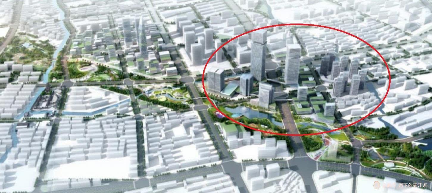 普陀区红旗村地区已经开始建设:在上海真如市级副中心的核心位置