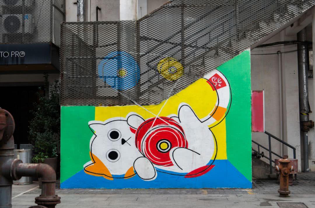 """苏州河边新添""""涂鸦墙""""!想不想去打卡?"""