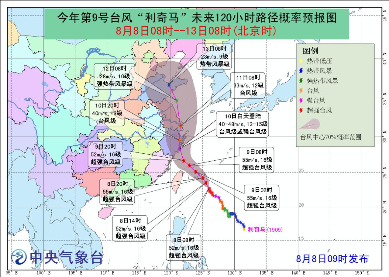 上海人挺住 双台风组团来袭 还有14级强风 大暴雨 接下来的日子太虐了