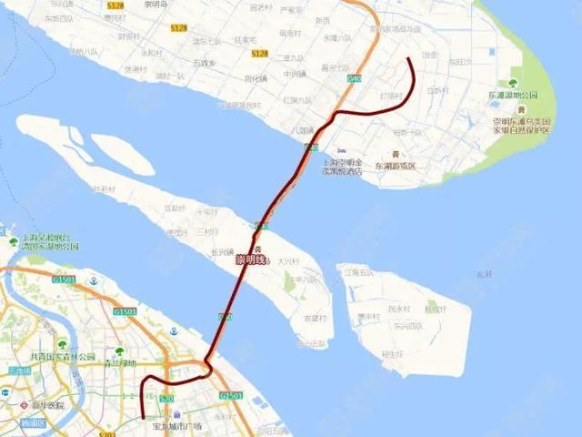 终于等来了!上海轨交崇明线开建 崇明岛1小时飞速进入市中心