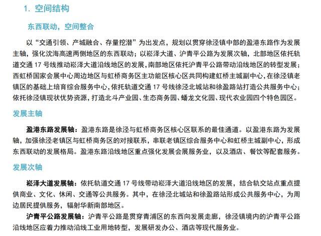 """徐泾,或是上海下一个""""黑马"""""""