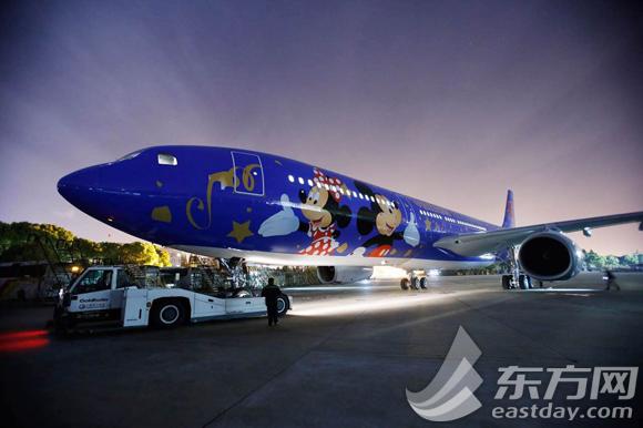 飞机将正式投入到航班运行之中