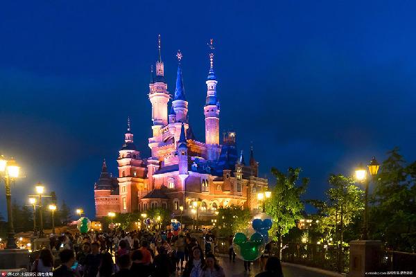 迪士尼奇幻童话城堡