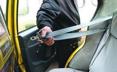 线路巴士安全带