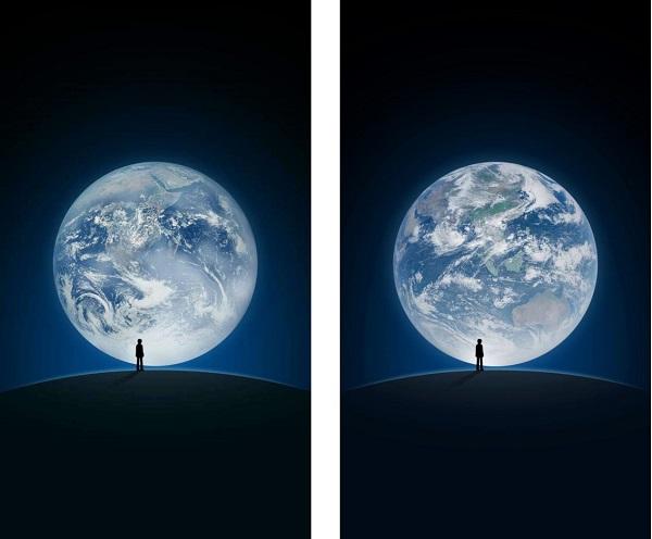 图说:微信启动界面的变化,左图为原先启动页,右图为新启动页   今日17时到28日17时,微信启动页画面将首次变脸:这是我国新一代静止轨道气象卫星风云四号从太空拍摄的最新气象云图(左图为原先启动页,右图为新启动页)。启动页背景中将特别展示风四拍摄的高清东半球云图,画面从人类起源的非洲大陆逐渐过渡为华夏文明起源地,这也是6年来微信启动页面首次发生变化。   据了解,微信的启动页面此次呈现的背景照片由风云四号拍摄,它搭载了全球首个大气垂直探测仪,并是国际上首次在单星上同时搭载了多通道扫描成像辐射计