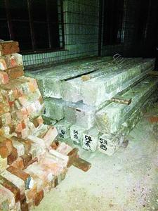 贤坊两图纸库门被拆惹v图纸市文物局:将恢复重建建公寓楼自排石图片
