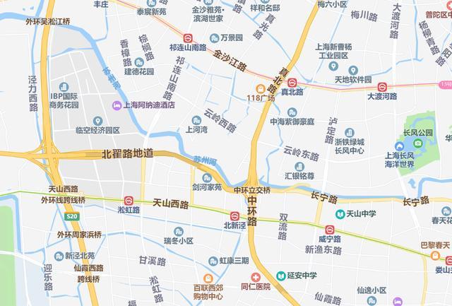 上海市苏州河长宁段绿化手笔很大:与道路交通、产业园区联合发展
