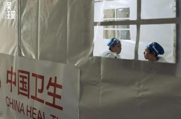 """上海这座体育馆变身""""方舱医院""""!靳东饰演院长…还有这些熟面孔!"""