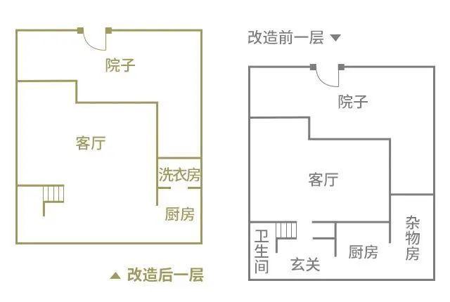 上海弄堂里的老房改造 改完完爆别墅样板房